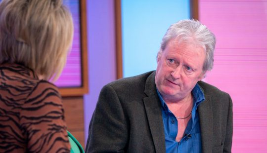 Corrie's Charlie Lawson reveals police suspected his second wife was murdered