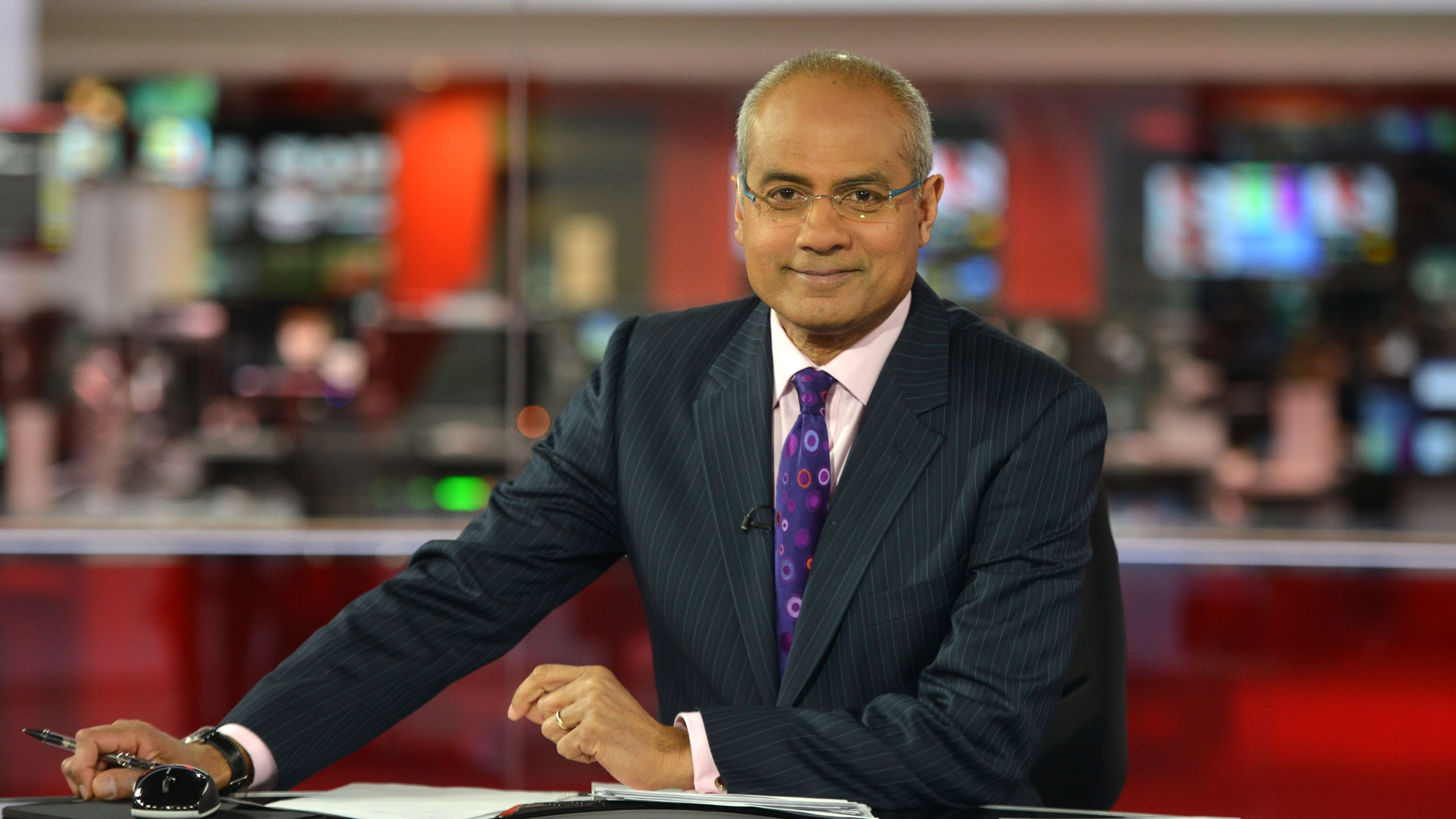 BBC newsreader George Alagiah reveals bowel cancer has spread