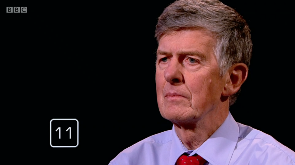 Viewers in tears as Mastermind finalist appears on BBC quiz just hours after his funeral