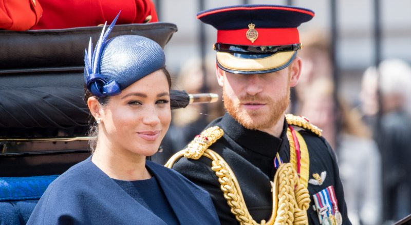 Meghan Markle and Prince Harry share new photo of baby Archie for Father's Day