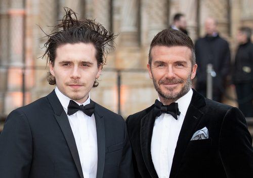 Brooklyn Beckham dating model who worked as Victoria Beckham lookalike