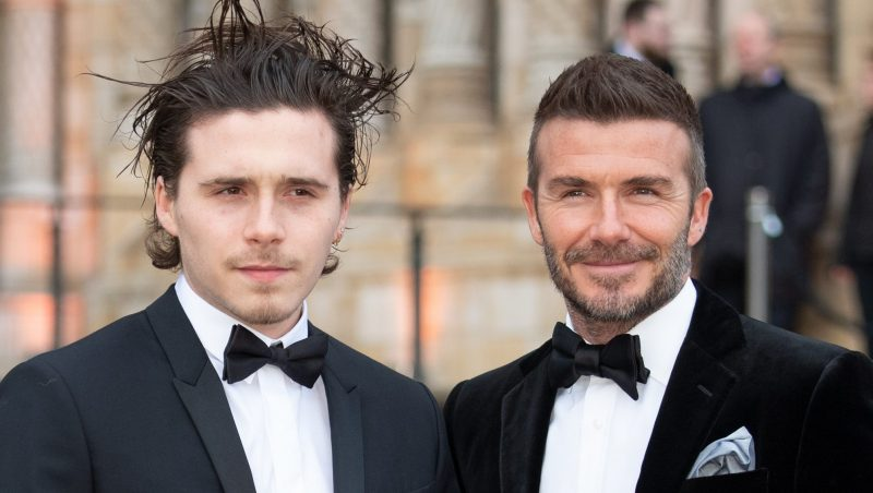 Brooklyn Beckham shares gushing tribute to dad David on Father's Day