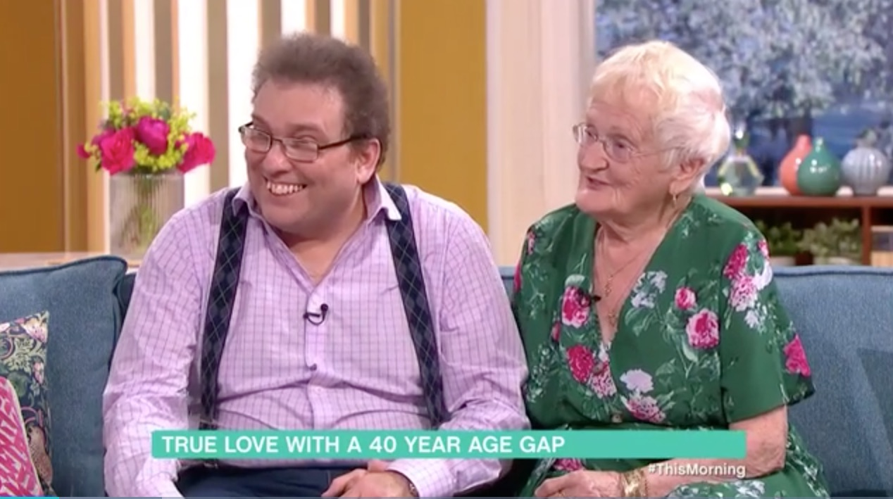 Couple with 40-year age gap divide This Morning viewers