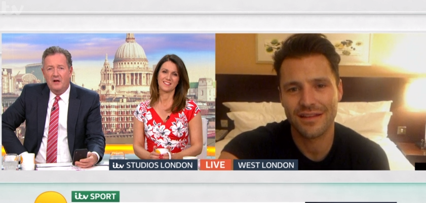Mark Wright hangs up on Piers Morgan during Good Morning Britain interview