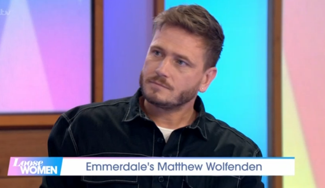 Emmerdale's Matthew Wolfenden reveals some viewers' horrifyingly sexist reaction to Maya grooming plot