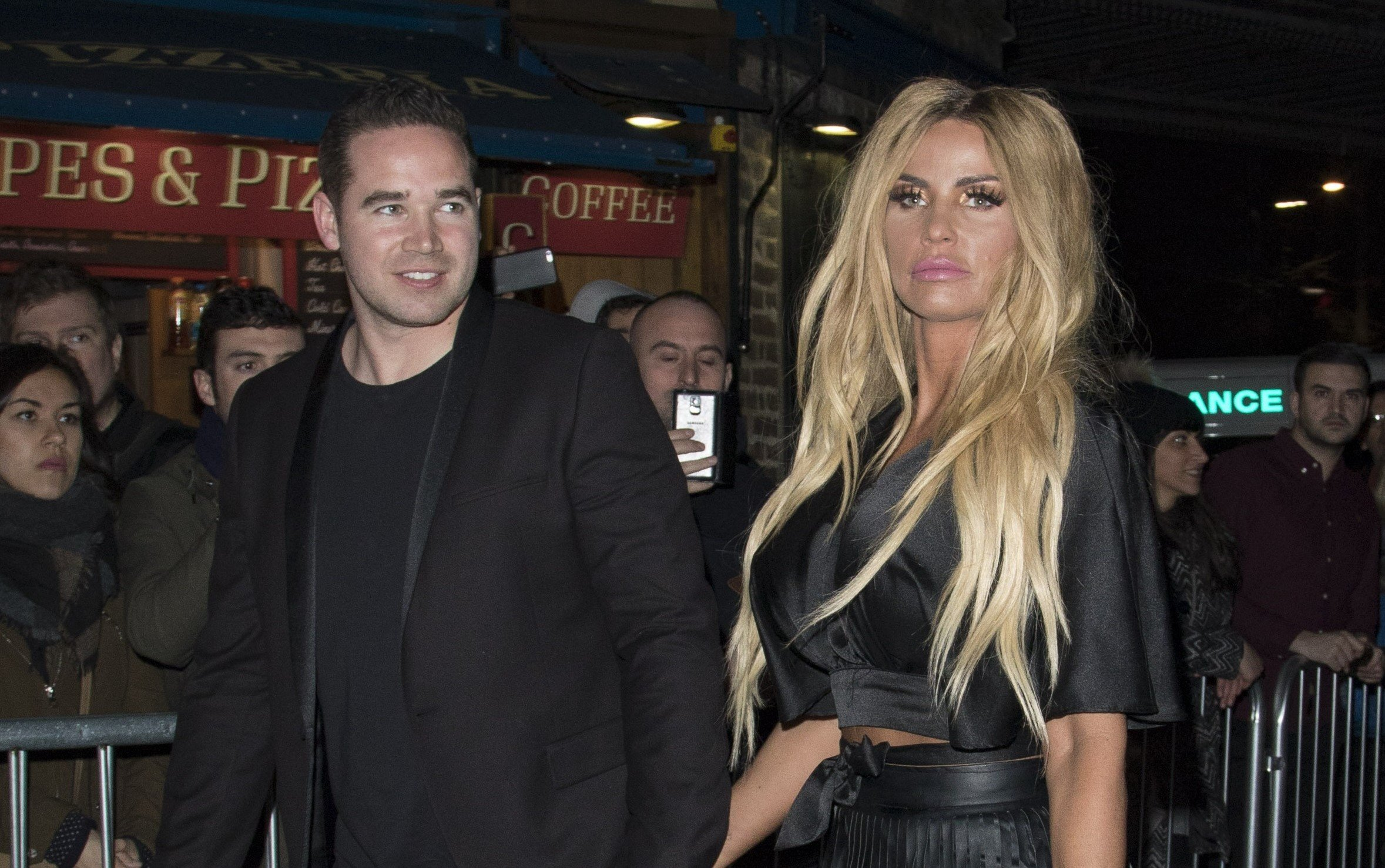Katie Price 'desperate to divorce Kieran Hayler by Christmas as they row over money'
