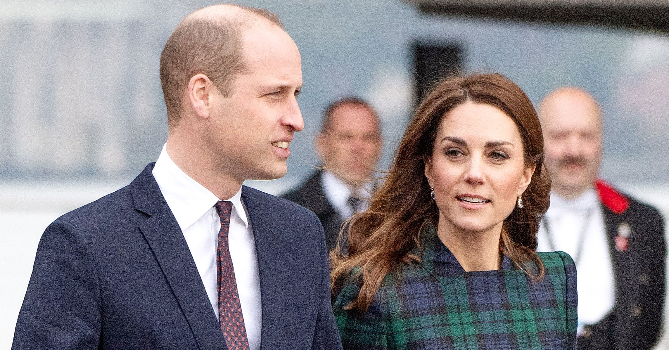 Elderly woman in hospital after collision with William and Kate's convoy