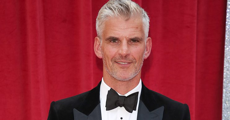 The British Soap Awards 2018, Hackney Town Hall, London UK, 02 June 2018, Photo by Brett D. Cove Pictured: Tristan Gemmill Ref: SPL5001079 020618 NON-EXCLUSIVE Picture by: Brett D. Cove / Splash News / SplashNews.com Splash News and Pictures Los Angeles: 310-821-2666 New York: 212-619-2666 London: 0207 644 7656 Milan: 02 4399 8577 photodesk@splashnews.com World Rights