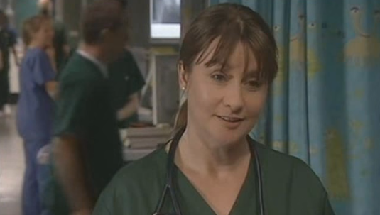 Susan Cookson Maggie Coldwell Casualty Credit: BBC/YouTube)
