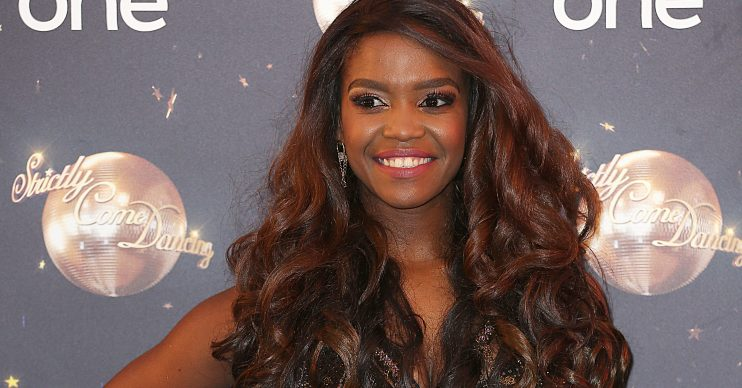 Strictly Come Dancing 2018 - Launch Show, Broadcasting House, London UK, 27 August 2018, Photo by Brett D. Cove Pictured: Oti Mabuse Ref: SPL5018920 270818 NON-EXCLUSIVE Picture by: Brett D. Cove / SplashNews.com Splash News and Pictures Los Angeles: 310-821-2666 New York: 212-619-2666 London: 0207 644 7656 Milan: 02 4399 8577 photodesk@splashnews.com World Rights