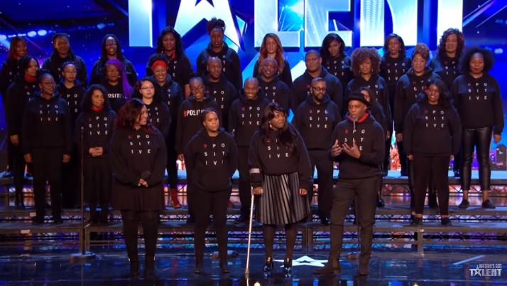B-Postitive choir BGT Credit: ITV/YouTube