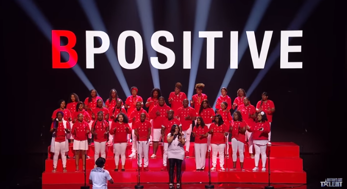B-Positive Choir BGT Credit: ITV/YouTube
