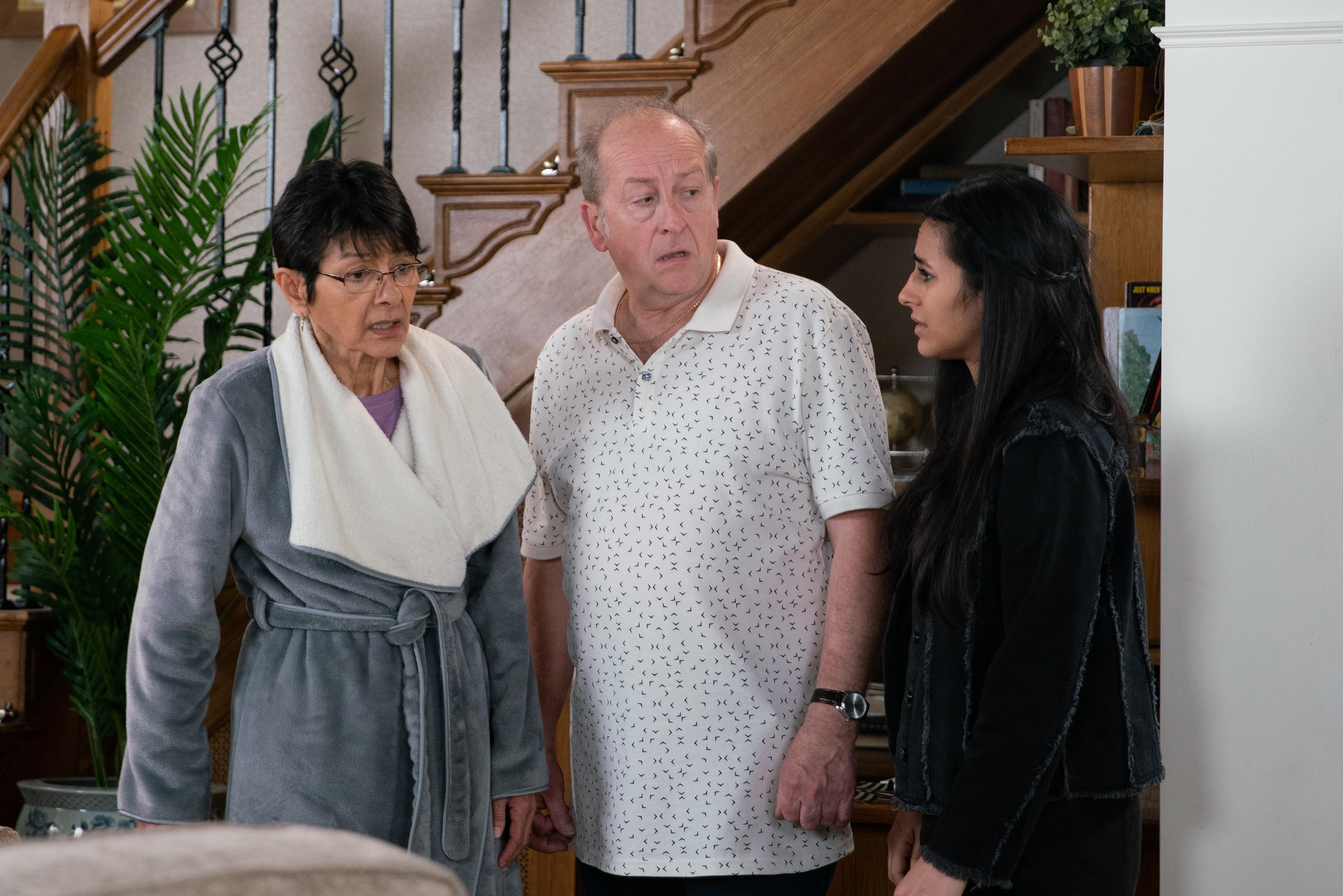 Coronation Street viewers convinced Geoff is poisoning Yasmeen