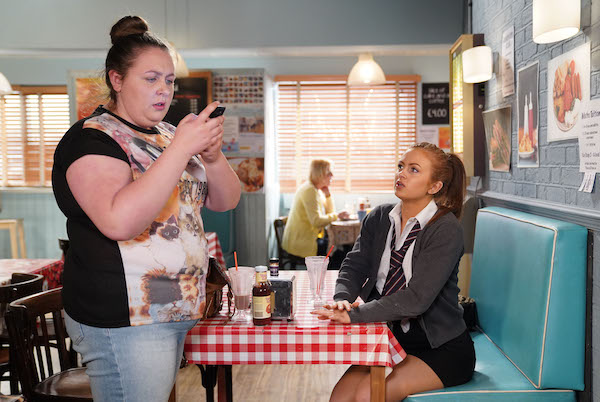 EastEnders SPOILER: Bernadette makes a horrifying discovery about Tiffany