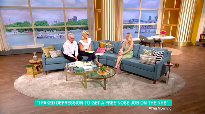 Woman reported for fraud as she admits lying about depression to get nose job on NHS