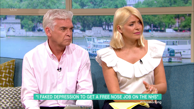 Phillip Schofield and Holly Willoughby This Morning
