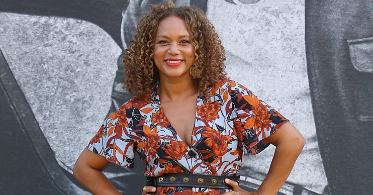 **USE CHILD PIXELATED IMAGES IF YOUR TERRITORY REQUIRES IT** Star arrivals of the 'Yardi' UK premiere held at BFI Southbank in London, UK. Pictured: Angela Griffin Ref: SPL5017767 220818 NON-EXCLUSIVE Picture by: Brett D. Cove / SplashNews.com Splash News and Pictures Los Angeles: 310-821-2666 New York: 212-619-2666 London: 0207 644 7656 Milan: 02 4399 8577 photodesk@splashnews.com World Rights
