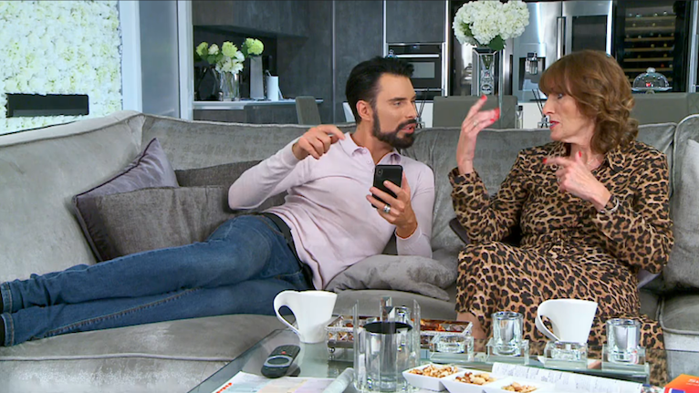 Gogglebox viewers can't get enough of Rylan's mum