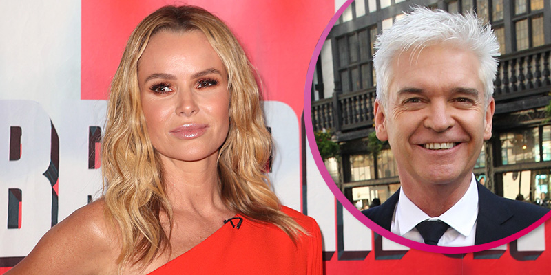 Amanda Holden claims Phillip Schofield 'snubbed' amid feud rumours