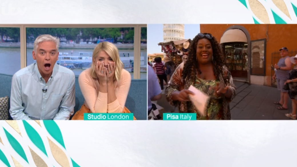 Alison Hammond almost gets ARRESTED live on This Morning