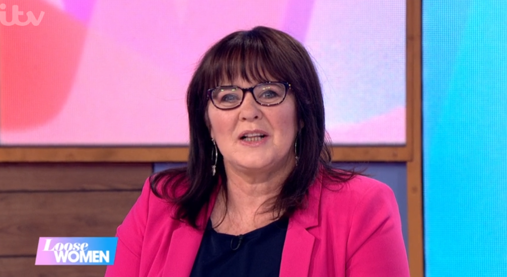 Coleen Nolan forced to apologise for co-star's 'swearing' live on Loose Women