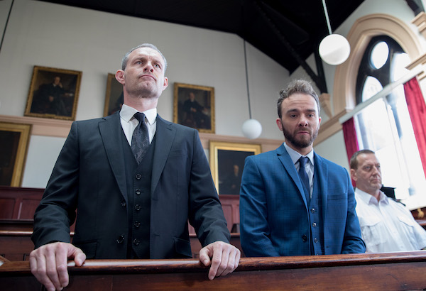 Coronation Street SPOILER: It's D-Day for David and Nick in court