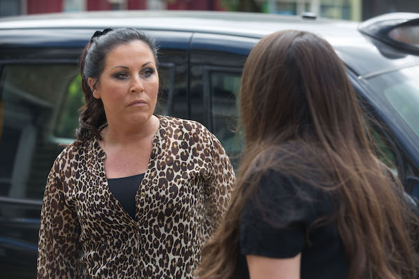 EastEnders SPOILER: Mo lies to get Kat and Stacey talking again