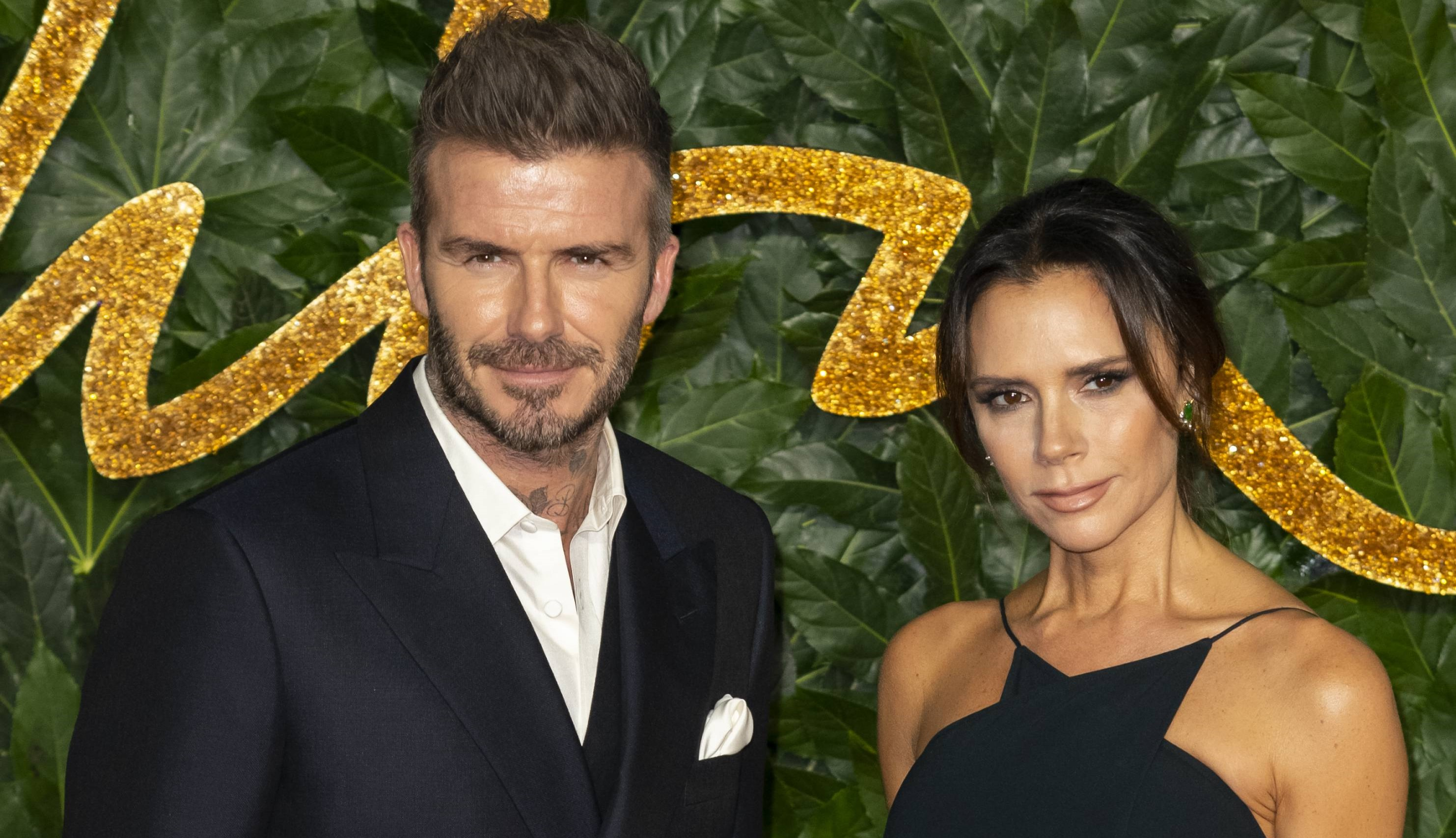 Victoria and David Beckham share loved-up photo at Glastonbury