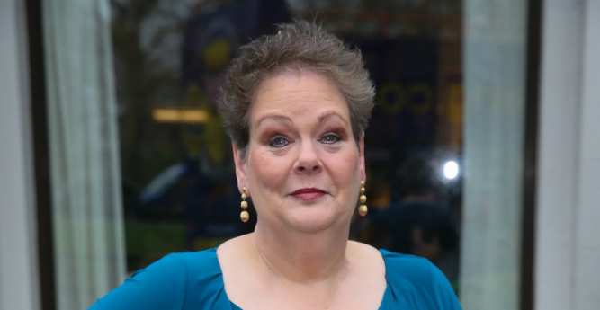 Anne Hegerty hits back at claims she's promoting weight loss product