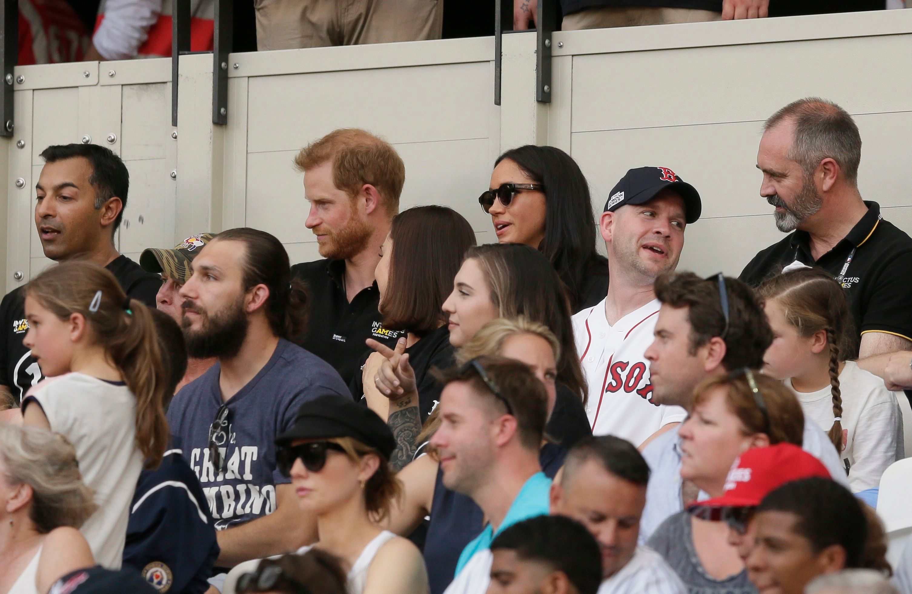 Harry 'ignores' wife Meghan during baseball game in awkward moment