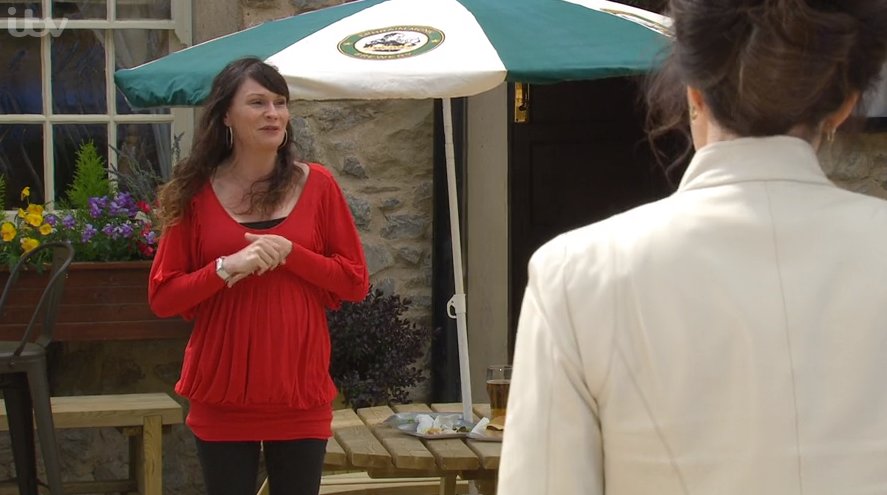 Emmerdale fans are convinced Chas and Paddy will have a baby girl after gender reveal blunder