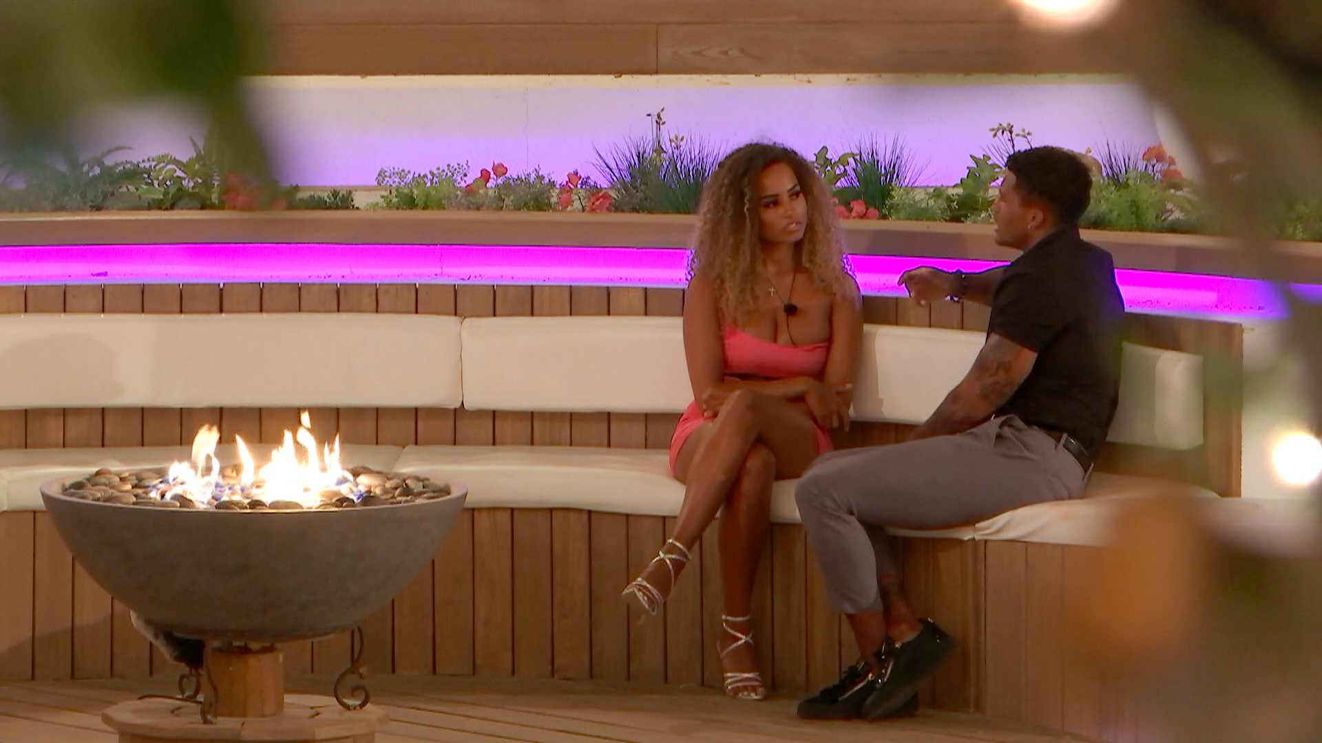 Love Island SPOILER: Michael loses his cool as Amber and Anna rage at him