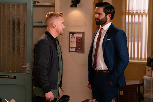Coronation Street SPOILER: Gary confesses to Imran TONIGHT!