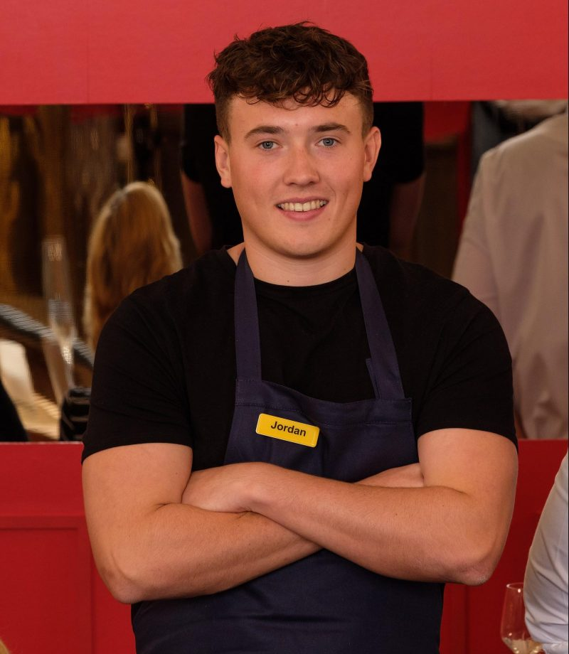 Jordan from The Restaurant That Makes Mistakes