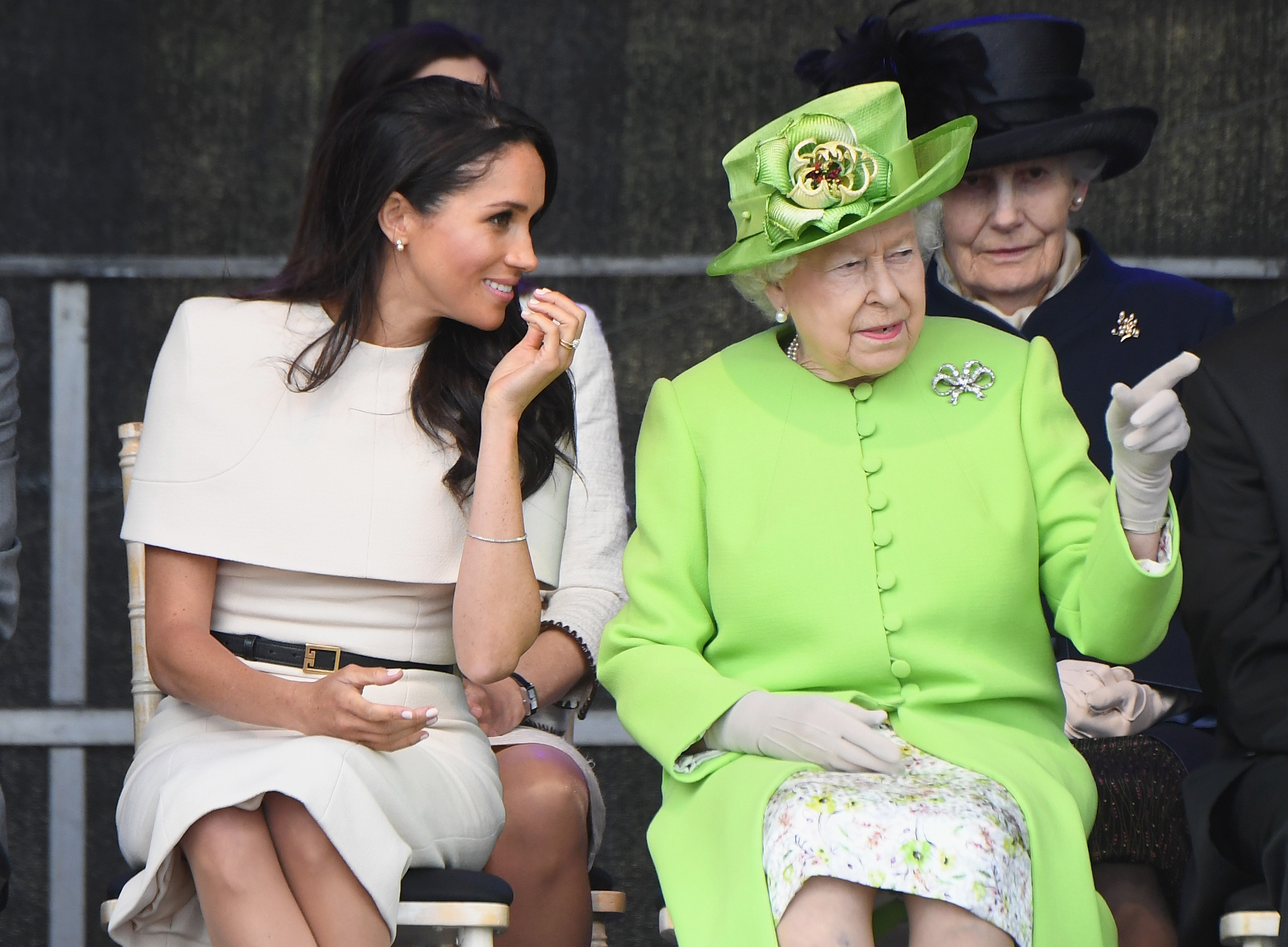 Meghan 'praised by the Queen for the way she has dealt with family rift'