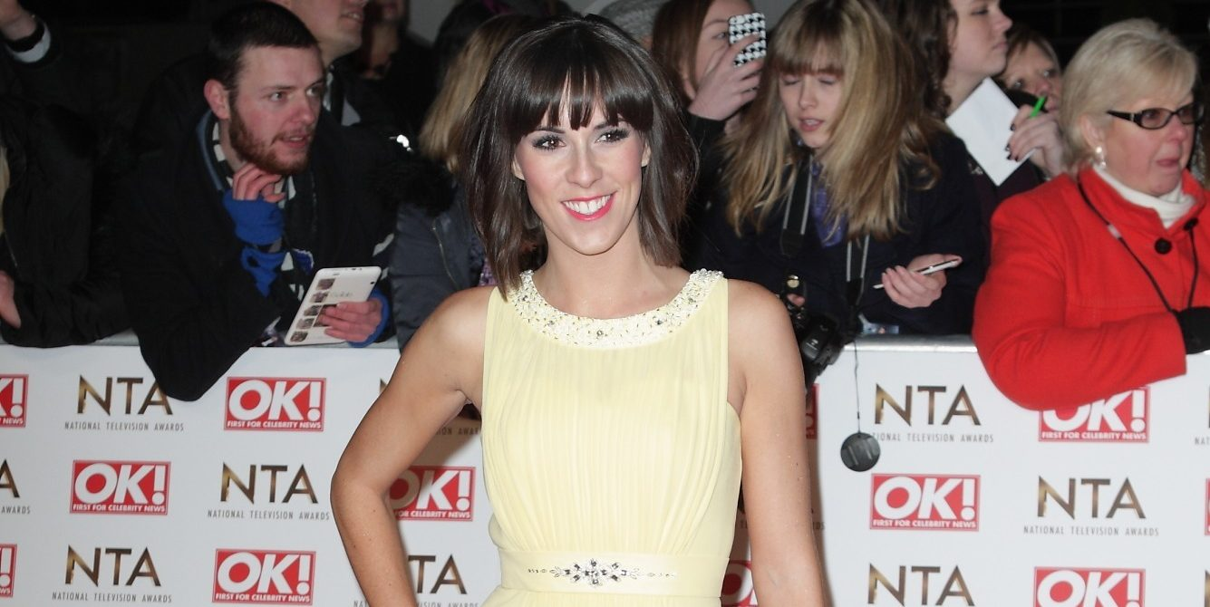 "Verity Rushworth shares snaps from ""first trip out"" with newborn son"