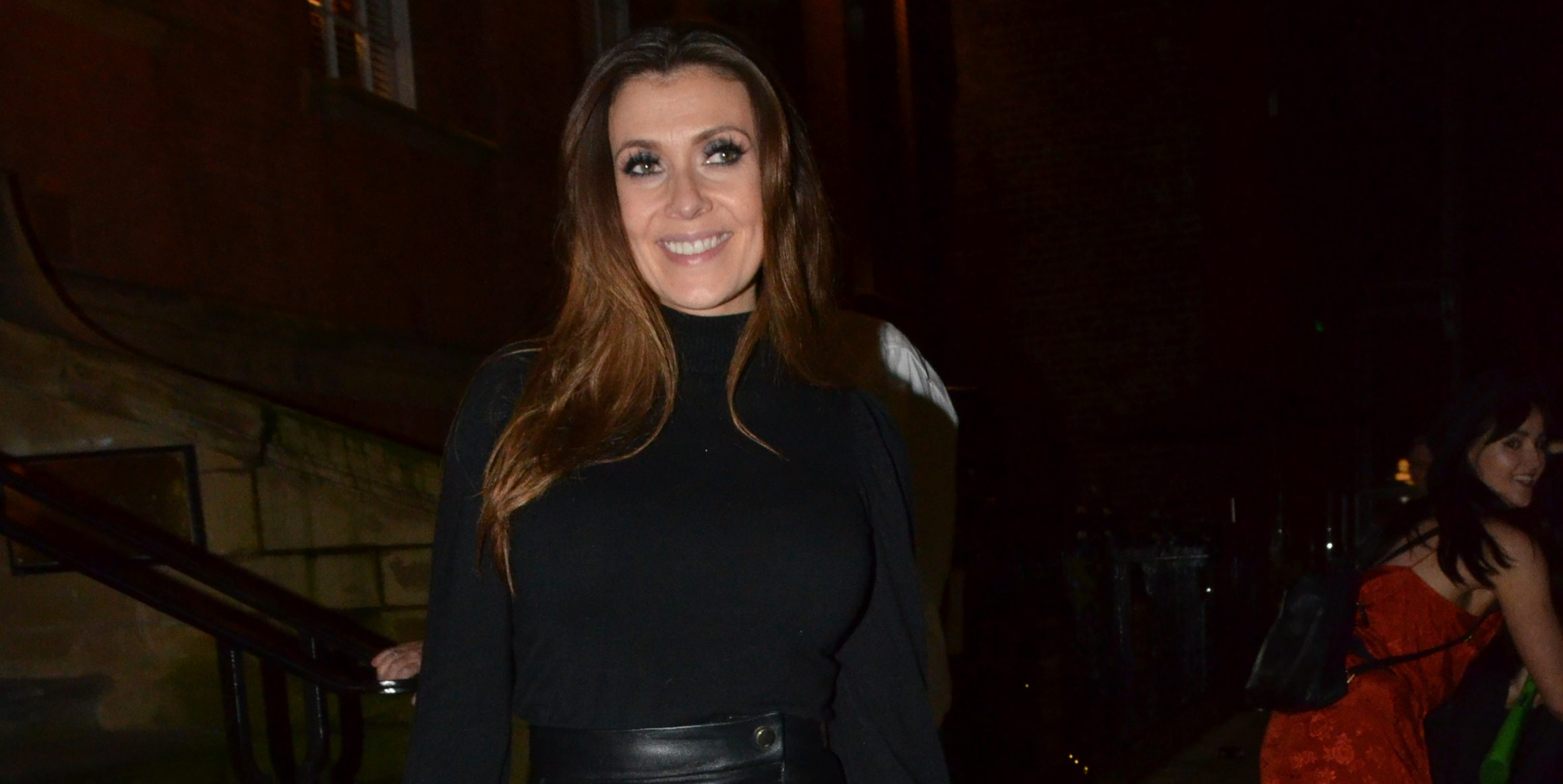 Coronation Street's Kym Marsh shares a photo on a night out with co-stars
