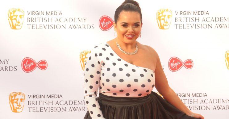 Virgin Media British Academy Television Awards 2019 - Arrivals Pictured: Scarlett Moffatt Ref: SPL5089079 120519 NON-EXCLUSIVE Picture by: SplashNews.com Splash News and Pictures Los Angeles: 310-821-2666 New York: 212-619-2666 London: 0207 644 7656 Milan: 02 4399 8577 photodesk@splashnews.com World Rights