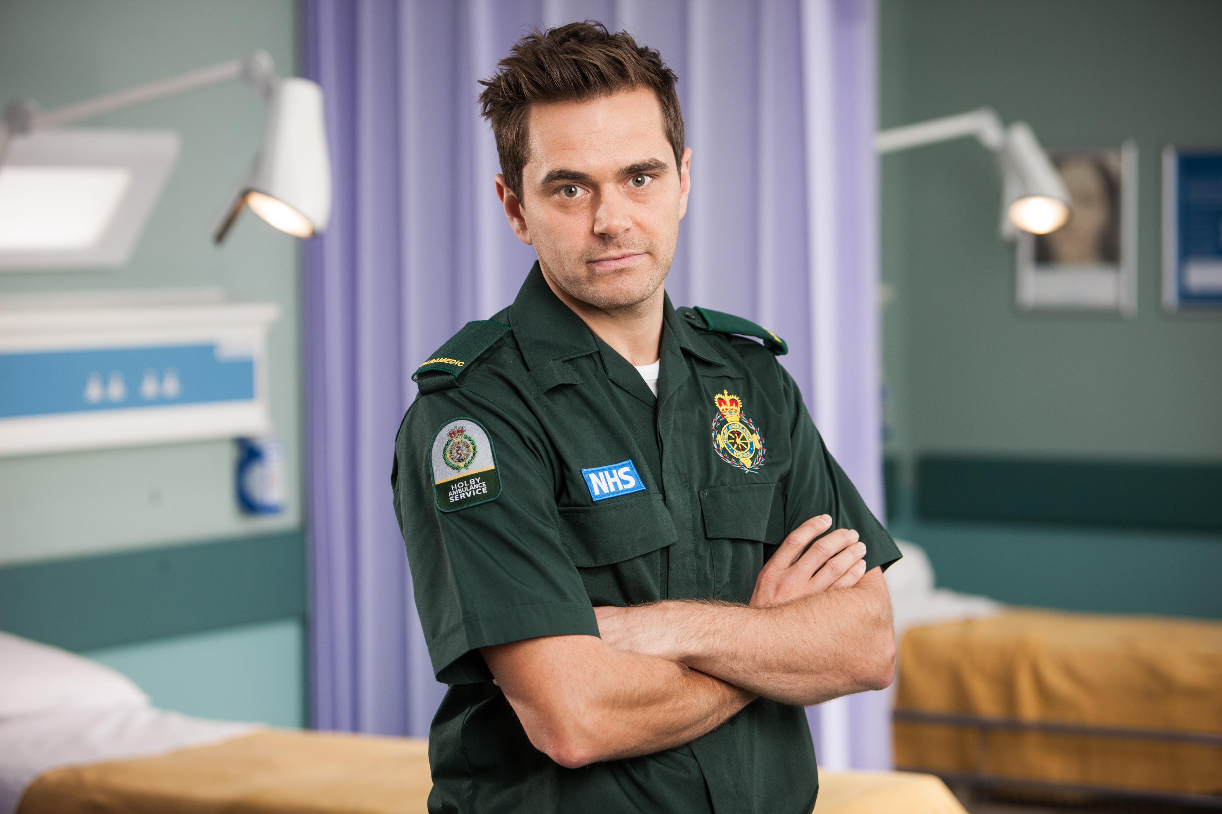 Programme Name: Casualty - Portraits - TX: n/a - Episode: Casualty - Portraits (No. n/a) - Picture Shows: Iain Dean (MICHAEL STEVENSON) - (C) BBC - Photographer: Jay Brooks