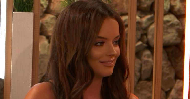 From ITV Studios Love Island: SR5: Ep30 on ITV2 Pictured: Maura and Curtis chat. This photograph is (C) ITV Plc and can only be reproduced for editorial purposes directly in connection with the programme or event mentioned above, or ITV plc. Once made available by ITV plc Picture Desk, this photograph can be reproduced once only up until the transmission [TX] date and no reproduction fee will be charged. Any subsequent usage may incur a fee. This photograph must not be manipulated [excluding basic cropping] in a manner which alters the visual appearance of the person photographed deemed detrimental or inappropriate by ITV plc Picture Desk. This photograph must not be syndicated to any other company, publication or website, or permanently archived, without the express written permission of ITV Picture Desk. Full Terms and conditions are available on the website www.itv.com/presscentre/itvpictures/terms For further information please contact: james.hilder@itv.com / 0207 157 3052