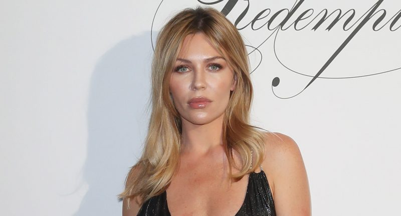 Abbey Clancy wows with bikini pic just six weeks after giving birth