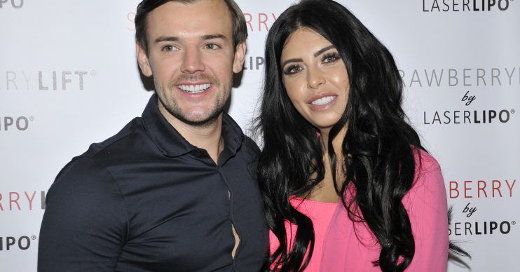 Reality TV Stars visit Professional Beauty London, ExCel London, Royal Victoria Dock, 1 Western Gateway, London. Pictured: Cara de la Hoyde and Nathan Massey Ref: SPL5067206 240219 NON-EXCLUSIVE Picture by: Sue Andrews / SplashNews.com Splash News and Pictures Los Angeles: 310-821-2666 New York: 212-619-2666 London: 0207 644 7656 Milan: 02 4399 8577 photodesk@splashnews.com World Rights