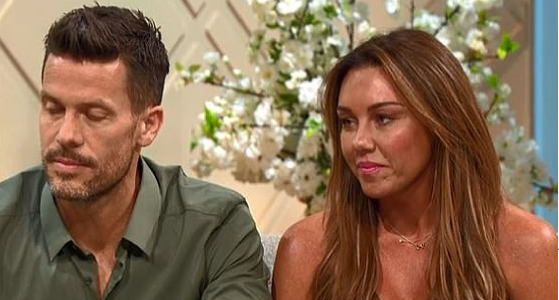 Michelle Heaton berated by viewers for 'milking' her menopause on Lorraine