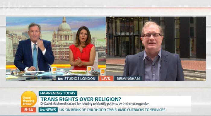 Good Morning Britain - David Mackereth