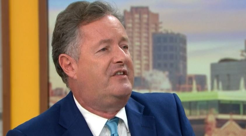 Piers Morgan 'snubbed' by 2019 National Reality TV Awards