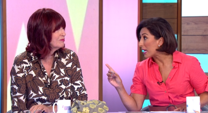 Janet Street Porter gets into shouting match with Saira Khan on Loose Women