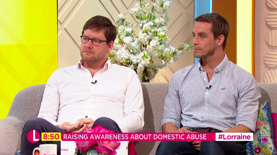 'Brave' Hart brothers whose controlling dad murdered their mum and sister move Lorraine viewers