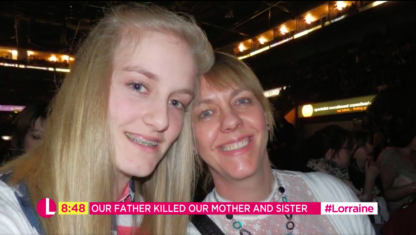 Hart mum and sister murdered by dad Lorraine