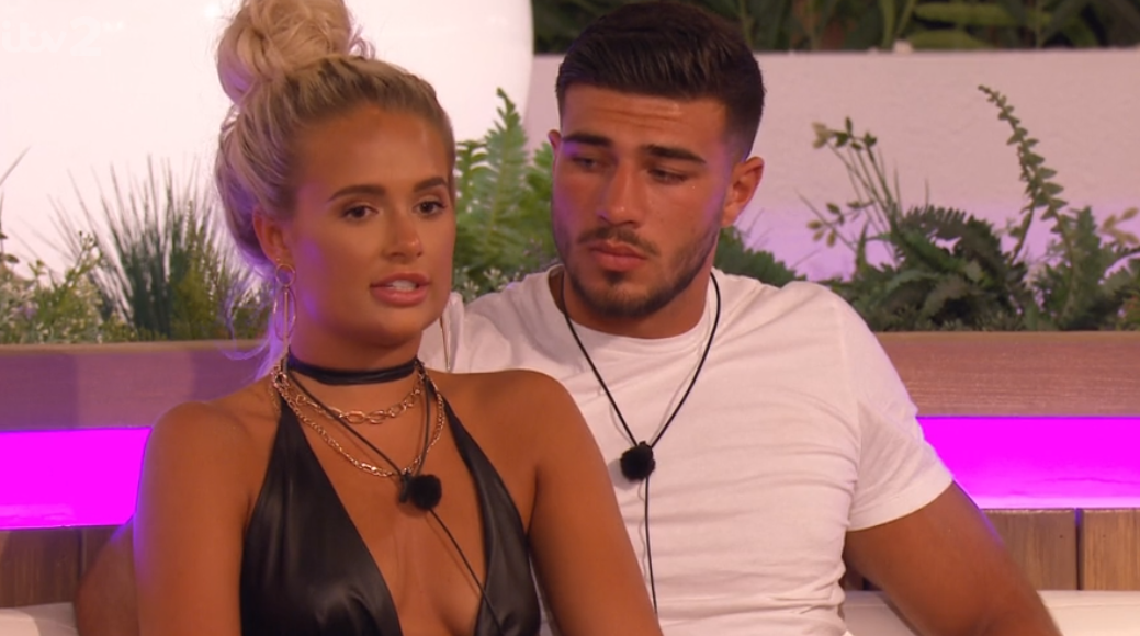 Love Island fans accuse Molly-Mae Hague of faking love for Tommy Fury