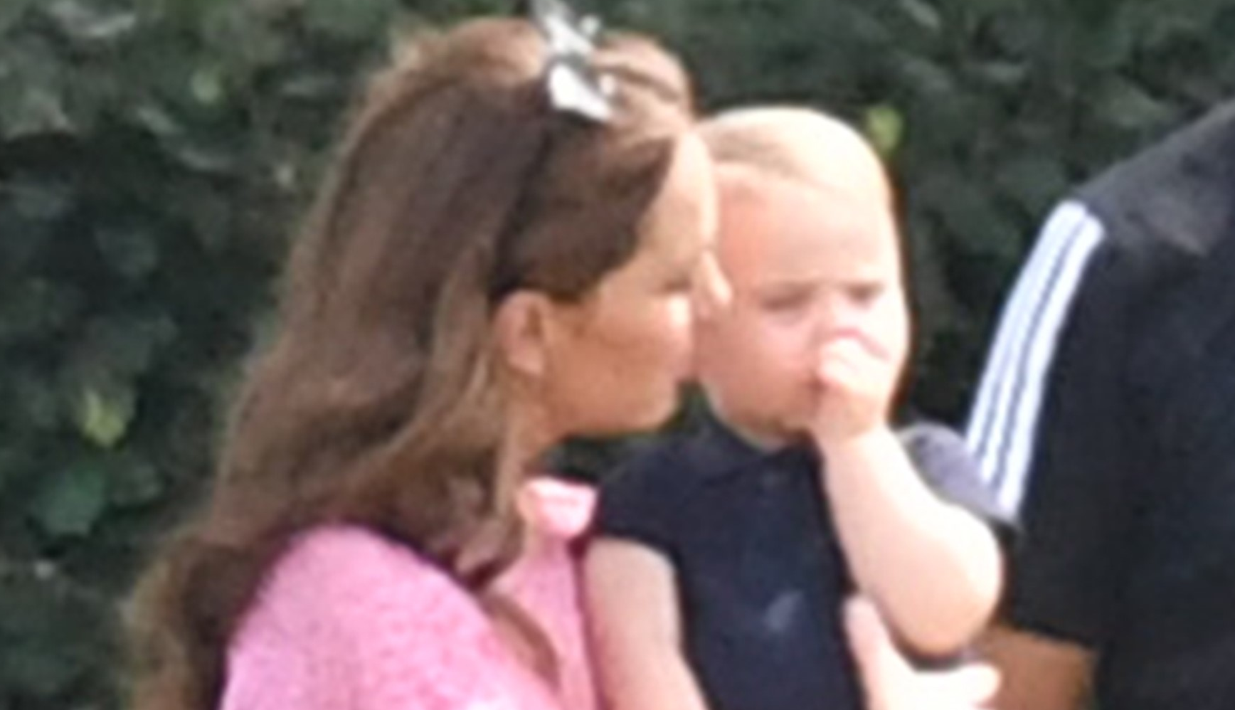 Prince Louis caught sucking his thumb; Princess Diana would not have approved